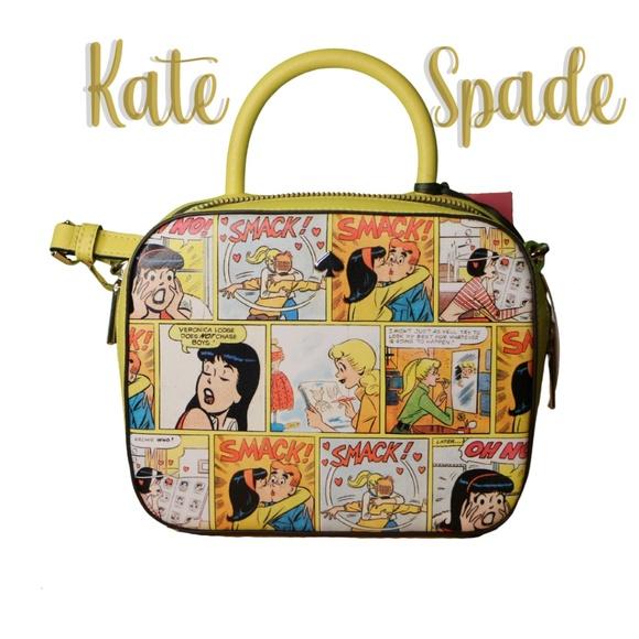 NWT Kate Spade Archie Comics Crossbody Bag